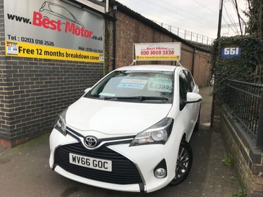 Toyota Yaris 1.33 VVT-i Icon+Low Mileage 6000 only
