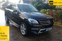 Mercedes M Class ML 250 BlueTEC AMG Line
