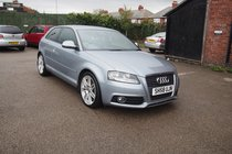 Audi A3 TDI S LINE FULL SERVICE HISTORY ! S-LINE LEATHER TRIM 99% FINANCE APPROVAL !