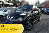 Nissan Juke TEKNA DCI METALLIC ORANGE,LEATHER TRIM, BIG SPEC, MUST BE SEEN!!!FROM £160.78 PER MONTH WITH ONLY £500 DEPOSIT