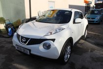 Nissan Juke Acenta 1.5 dCi - Full Service History - Stunning White Diesel Juke - Over 58 MPG - Low Tax & Insurance - Now £700 off