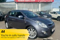 Hyundai I20 STYLE 5 DOOR SERVICE HISTORY ELECTRIC WINDOWS ABS AIR CON USB AUX BLACK & RED LEATHER & CLOTH TRIM 16