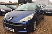 Peugeot 207 1.4 HDi S 5dr (a/c)*HPI CLEAR*RECENT SERVICE*ONE FORMER KEEPER*2 KEYS*MOT DUE 13/05/2018*FREE 6 MONTHS WARRANTY