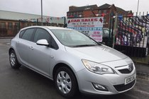 Vauxhall Astra EXCLUSIV 1.6i 16v VVT 5DR 2010 ** 12 MONTH MOT INCLUDED ** 8 SERVICE STAMPS ** CRUISE CONTROL ** 2 KEYS