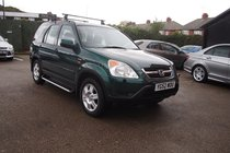 Honda CR-V 2.0 SE EXECUTIVE AUTO ! SAT NAV - DVD ! FULL HEATED LEATHER !