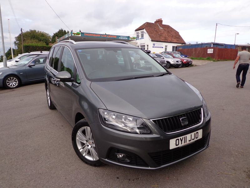 seat alhambra 2 0 tdi cr ecomotive se thornbury car centre. Black Bedroom Furniture Sets. Home Design Ideas