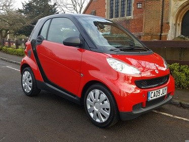 Smart ForTwo CABRIO PURE 71BHP WE HAVE SERVICED THIS CAR !