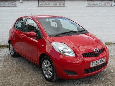 Toyota Yaris 1.33 VVT-i TR 5dr 2 FORMER KEEPER , A1 CONDITION