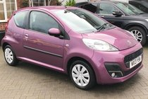 Peugeot 107 ACTIVE, LADY OWNER