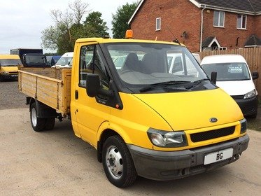 Ford Transit FORD TRANSIT 90T350 SINGLE CAB TIPPER,GENUINE LOW MILES 62K,1 OWNER EX AUTHORITY very low mileage tipper for year,good cab and c