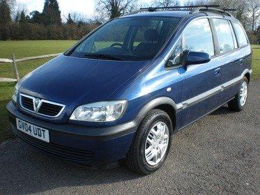Vauxhall Zafira 1.8I 16V DESIGN