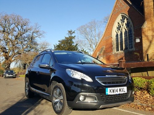 Peugeot 2008 1.6 E-HDI 115 ALLURE / ONLY £30 ROAD TAX, BLUETOOTH, DAB RADIO, MEDIA STREAMING