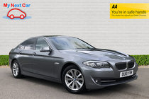 BMW 5 SERIES 520d SE BEIGE LEATHER FULL SERVICE HISTORY