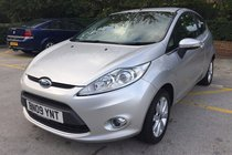 Ford Fiesta 1.4 Zetec 3dr*HPI CLEAR*RECENT SERVICE*2 KEYS*MOT DUE 03/11/2018*FREE 6 MONTHS WARRANTY*FREE 12 MONTHS AA BREAKDOWN COVER