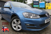 Volkswagen Golf MATCH EDITION TDI BMT EURO 6 1 OWNER FREE ROAD TAX