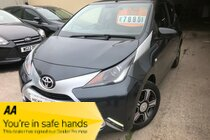 Toyota AYGO VVT-I X-CLUSIV 2 STUNNING EXAMPLE MASSIVE SPEC LEATHER NAV SUNROOF PARKING CAM ONLY 6,000 MILES FULL DEALER HISTORY  PX WELCOME