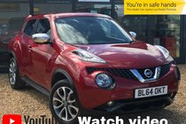 Nissan Juke TEKNA DCI RARE FORCE RED + EXTERIOR PACK + REAR SPOILER
