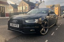 Audi A4 TDI QUATTRO S LINE BLACK EDITION.SatNav/Sensors/Cruise/BT