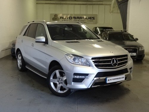 Mercedes M Class 3.0 ML 350 BLUETEC SPORT AUTO 4WD
