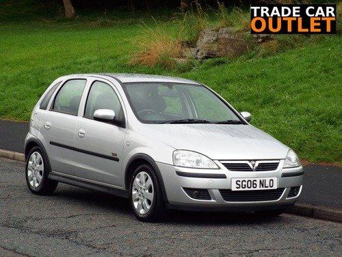 Vauxhall Corsa 1.2I 16V SXI+ +NEW MOT+ LOW MILEAGE