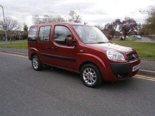 Fiat Doblo 1.4 8V DYNAMIC DISABLED CONVERTED