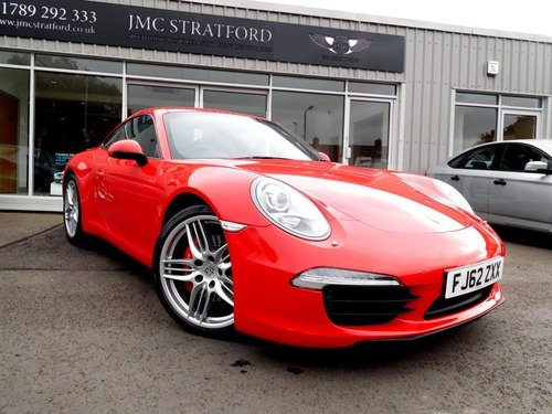Porsche 911 991 3.8 Carrera S PDK 2dr Sports Chrono LOW RATE FINANCE AT 6.9% APR Representative