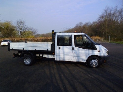 Ford Transit CREWCAB ONE STOP ALLOY100PS T380L D/C RWD