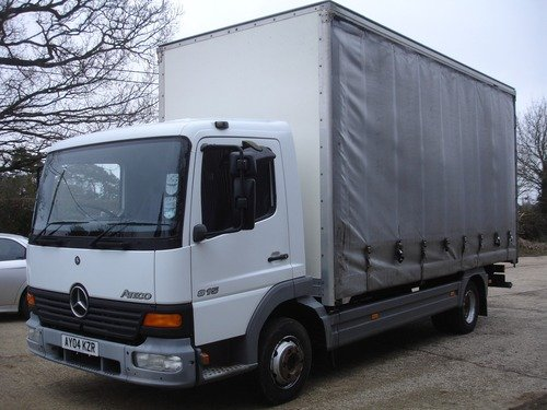Mercedes Atego 815 Curtain Sided Truck