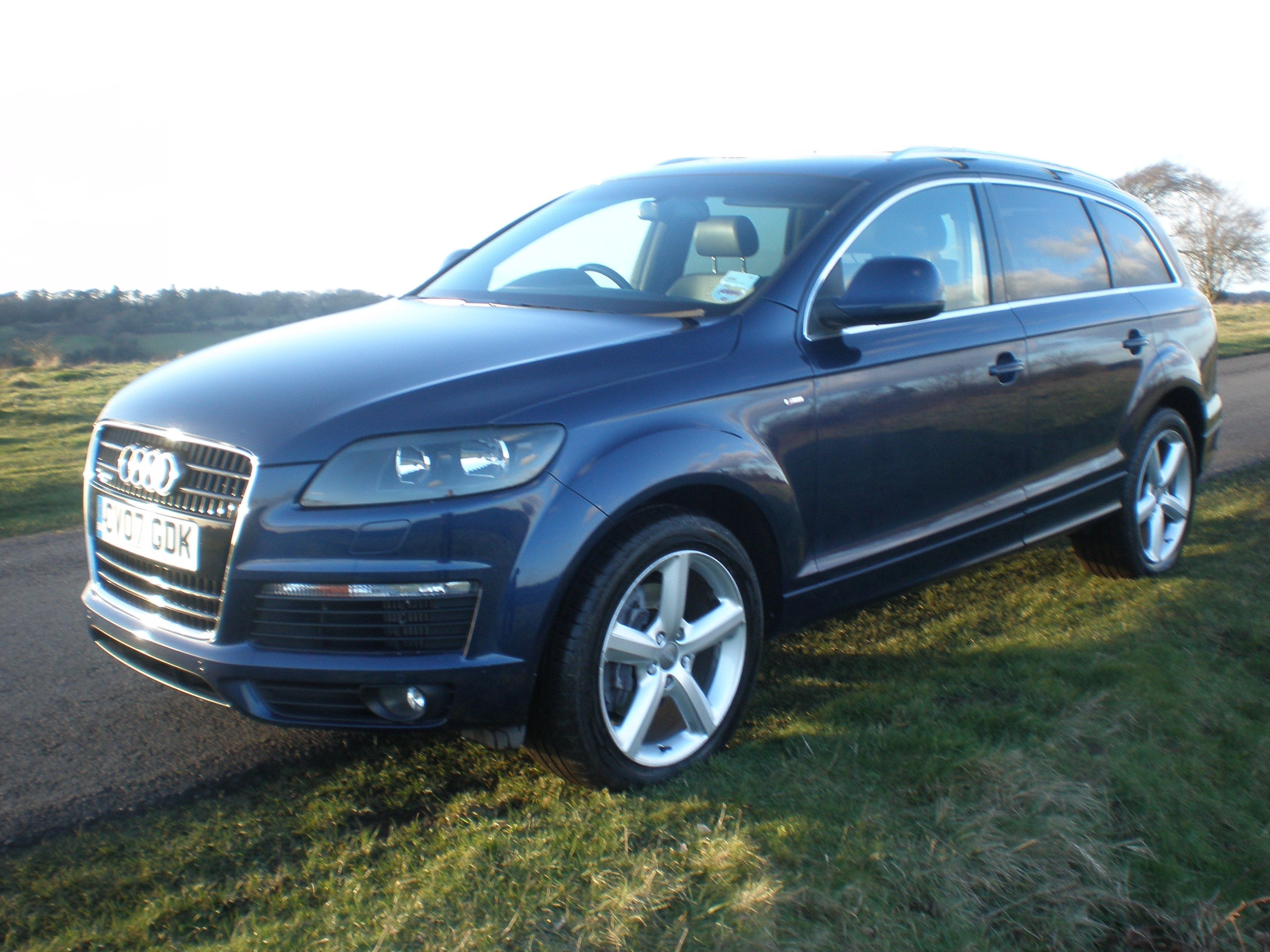 Cars4youdirect Audi Q7 3 0 Tdi S Line Automatic Sat