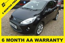 Ford Ka TITANIUM 6 MONTH WARRANTY-12 MONTH MOT-12 MONTH AA COVER-12 MONTH FULL SERVICE