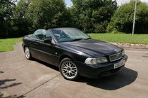 Volvo C70 C70 LPT CONVERTIBLE CABRIOLET - BLACK WITH BLACK LEATHER
