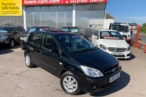Hyundai Getz CDX LADY OWNER SINCE 2012 SERVICE HISTORY ELECTRIC SUNROOF ALLOYS SPOILER