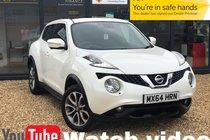 Nissan Juke TEKNA DCI + PEARL WHITE  + VERY RARE SUNROOF