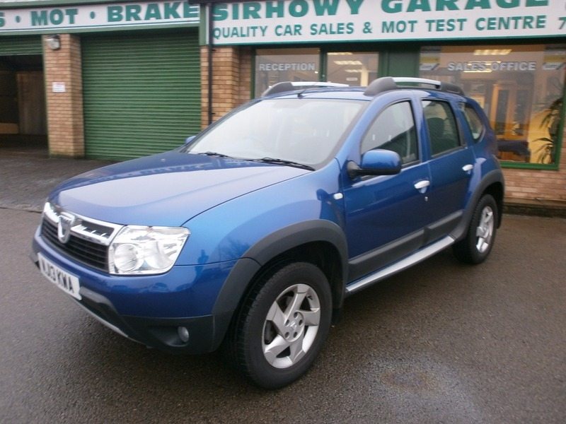 dacia duster laureate dci 4wd sirhowy garage. Black Bedroom Furniture Sets. Home Design Ideas