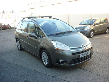 Citroen C4 Grand Picasso 1.6 HDI EXCLUSIVE EGS 110HP 7 sater Finance Available