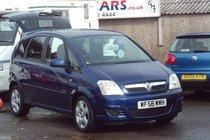 Vauxhall Meriva BREEZE 16V 1.4 73,000 MILES SERVICE HISTORY 1 OWNER