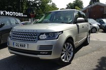 Land Rover Range Rover SDV8 VOGUE SE FINANCE FROM £736.60 PER MONTH