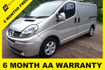 Renault Trafic SL27 SPORT DCI L/C P/V 6 MONTH AA WARRANTY - 12 MONTH MOT - FULL SERVICE - 12 MONTH AA BREAKDOWN COVER