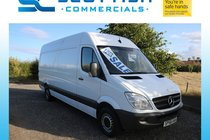 Mercedes Sprinter 313 CDI LWB H/R P/V **NO VAT** YEARS MOT PLY LINED BLUE TOOTH HANDS FREE LOW MILES