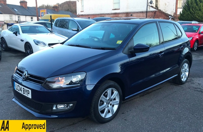volkswagen polo 1 2 match edition 5dr vgs high wycombe ltd. Black Bedroom Furniture Sets. Home Design Ideas