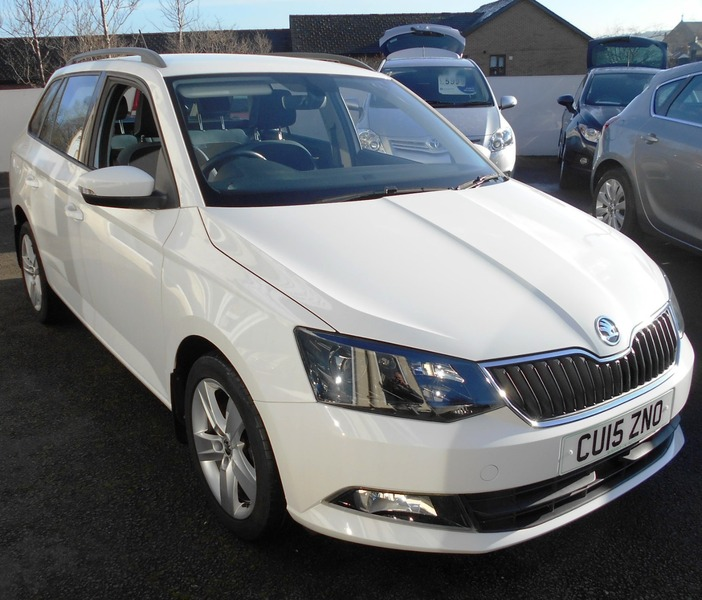 Used Skoda Fabia SE L 1.2 TSI 90PS For Sale Swansea