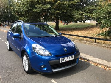 Renault Clio DYNAMIQUE DCI+ Annual Road Tax Only 30 POUND