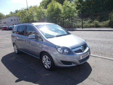Vauxhall Zafira 1.6 16V VVT  EXCLUSIV BUY NO DEP & £31 A WEEK