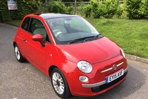 Fiat 500 LOUNGE FULL SERVICE HISTORY AIR CONDITIONING AND BLUTOOTH