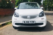 Smart ForFour EDITION WHITE T
