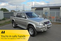 Mitsubishi L200 TD 4WD LWB WARRIOR DCB P/U - FULL MOT - FREE NATIONWIDE DELIVERY