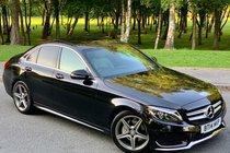 Mercedes C Class C220 BLUETEC AMG LINE PREMIUM C CLASS SALOON