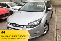Ford Focus ZETEC TDCI AUTOMATIC CLEAN EXAMPLE VERY GOOD SPEC FSH NEW MOT SPARE KEYS PX WELCOME