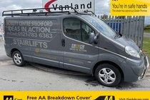 Vauxhall Vivaro 2900 CDTI SPORTIVE P/V