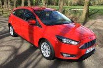 Ford Focus TITANIUM ECOBOOST FULL SERVICE HISTORY SAT NAV BLUETOOTH